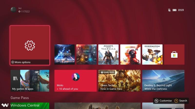 Thème dynamique Xbox Series X