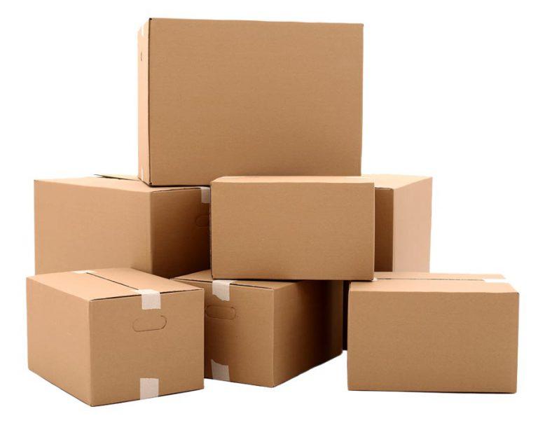 Boîtes en carton ondulé