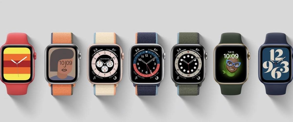 Sphères Apple Watch Series 6