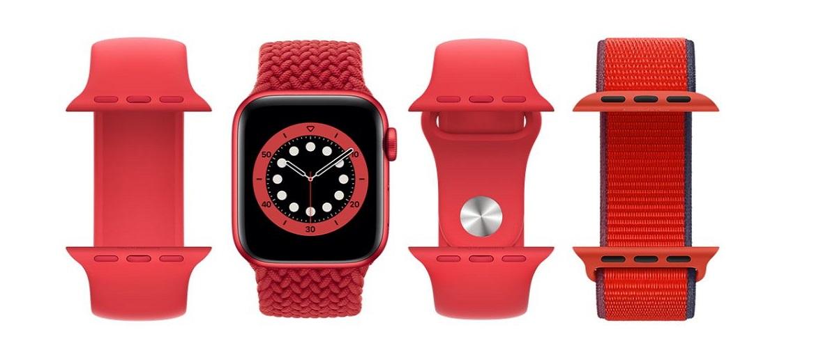 Apple Watch Series 6 en vedette