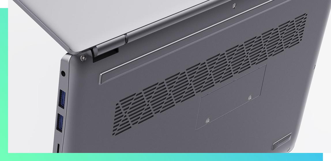 ALLDOCUBE i7Book - Dissipation thermique