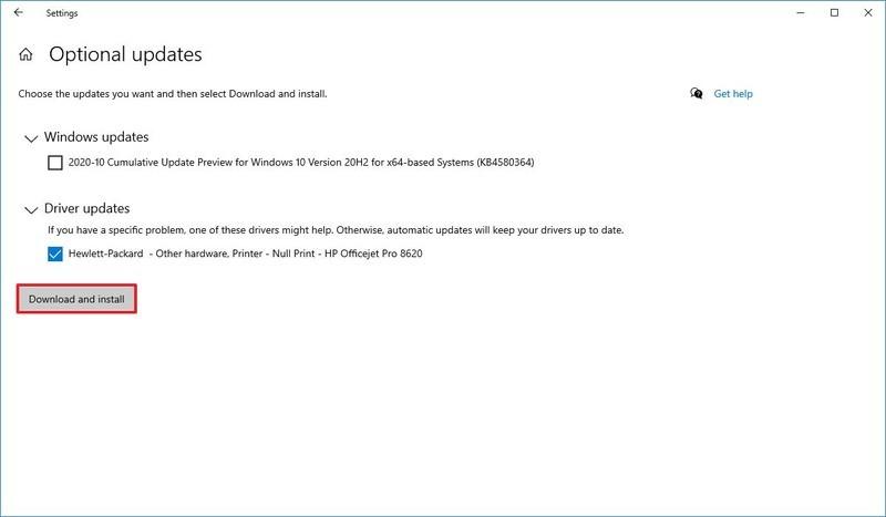 Mettre à jour le pilote pour résoudre les problèmes de Microsoft Teams Microsoft
