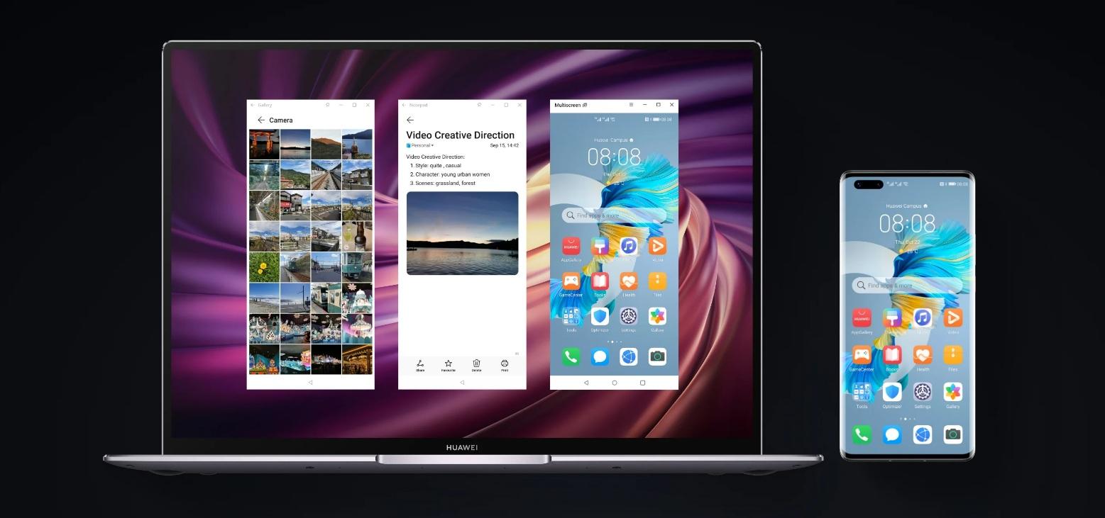 Huawei Mate 40 Pro + - Multitâche