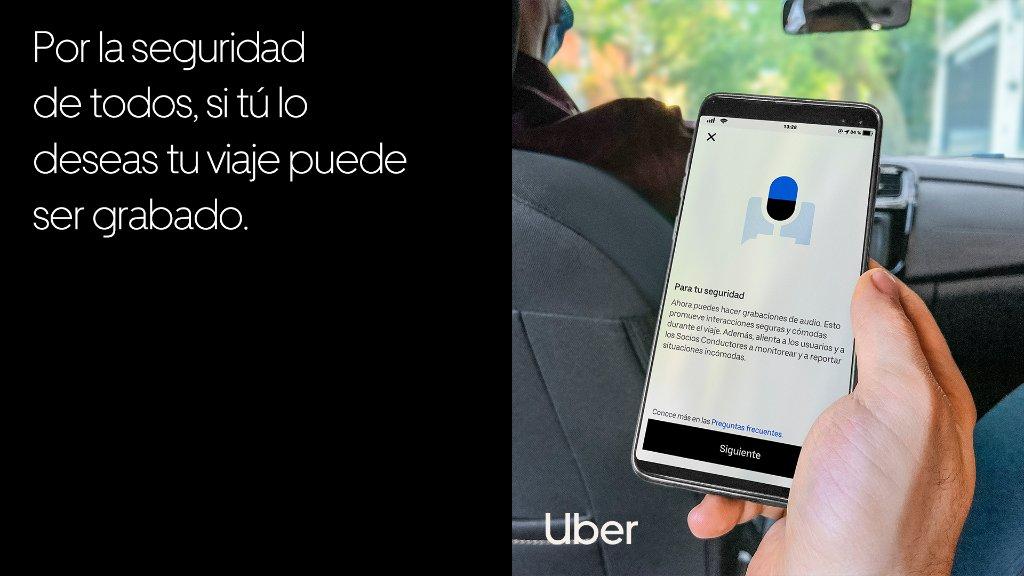 Voici comment fonctionne l'enregistrement audio dans Uber