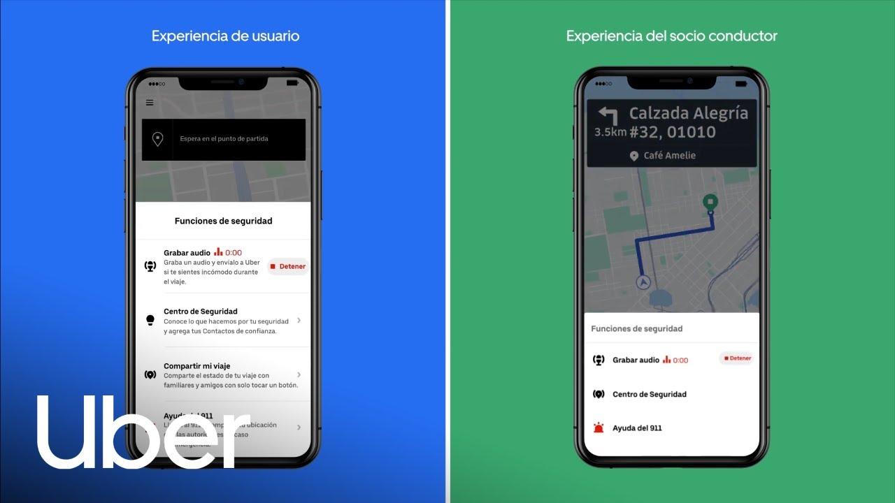 Uber ajoute l'enregistrement audio comme nouvelle fonction de sécurité