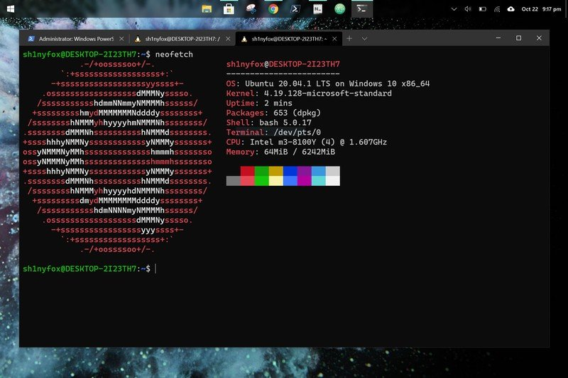Ubuntu sur Windows 10