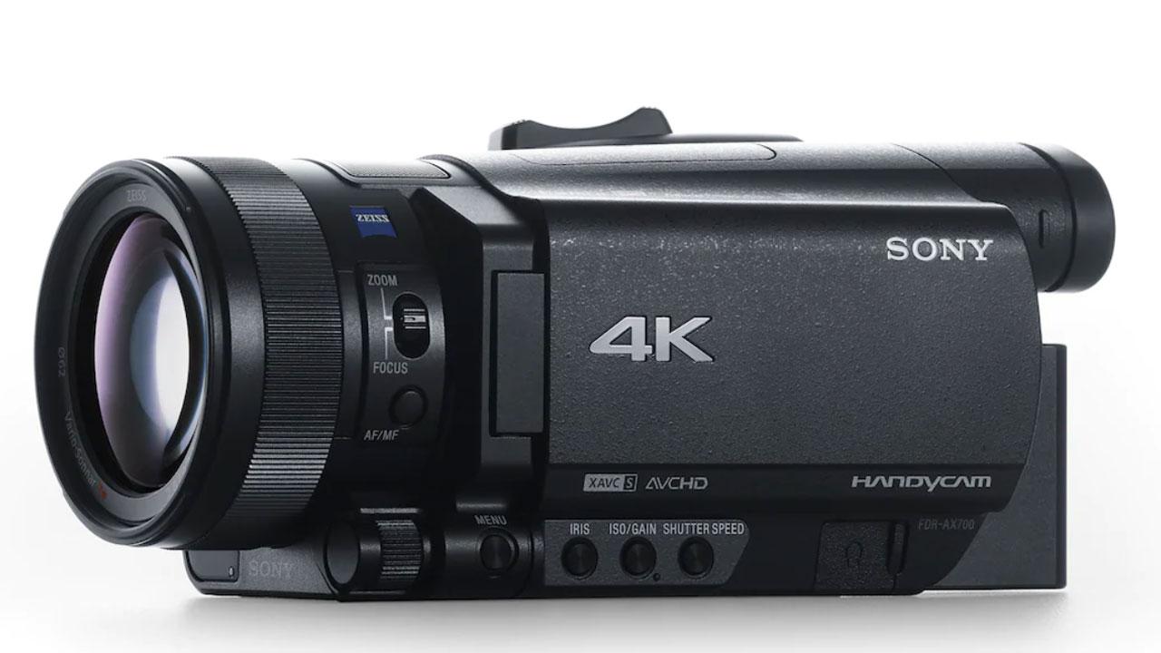 Sony FDR-AX700, capturez le monde tel que vous le voyez avec ce caméscope 4K