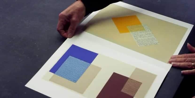 Interaction des couleurs