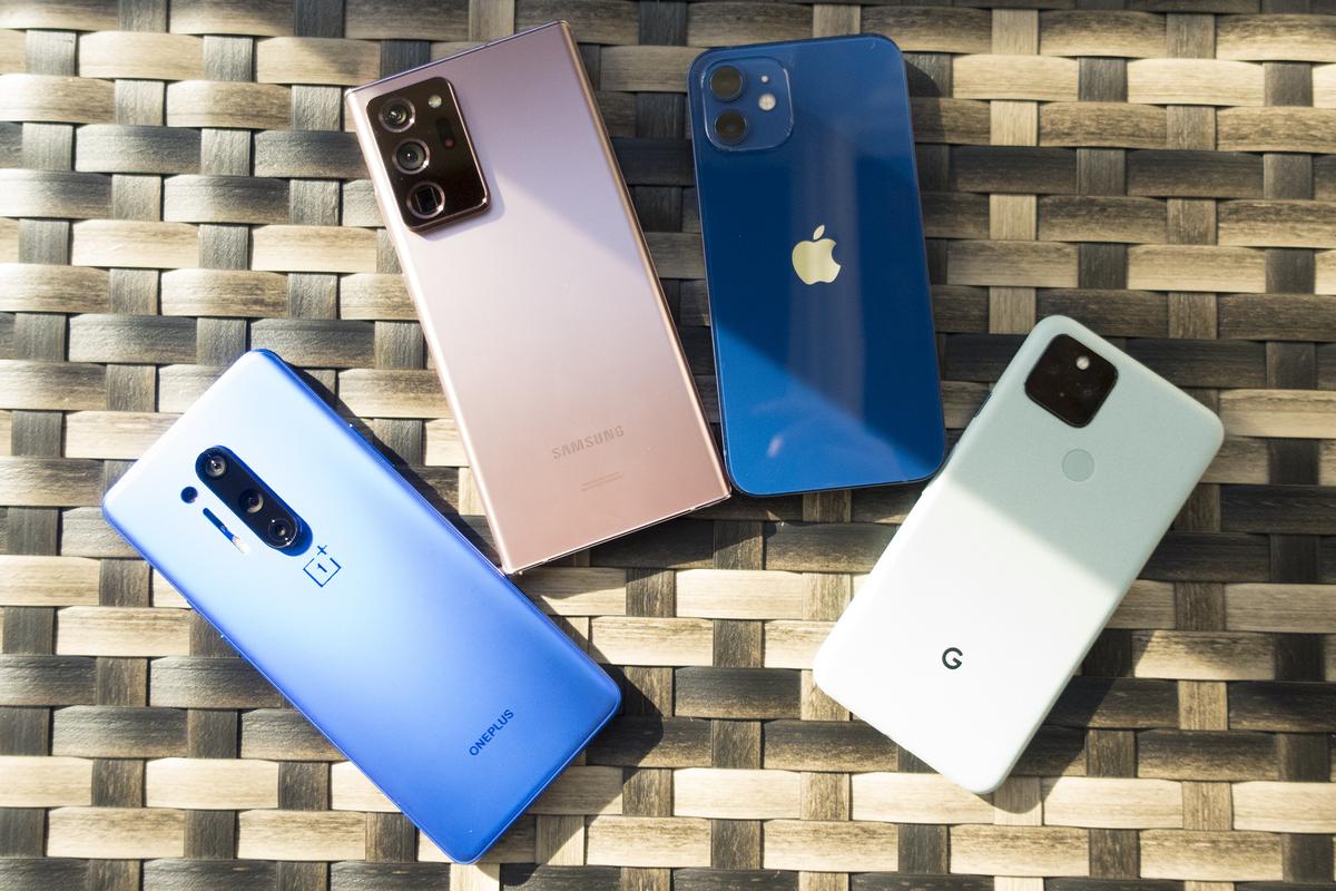 iPhone 12 vs les meilleurs téléphones Android: il est ...