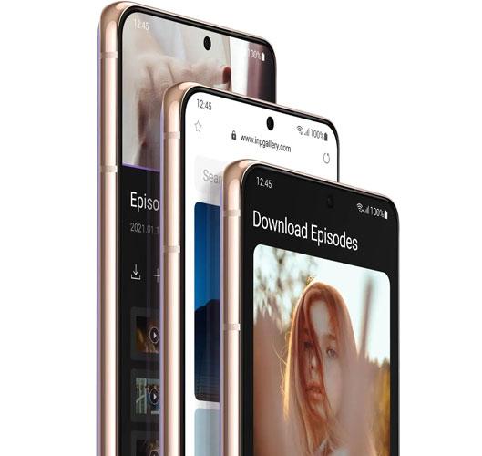 Samsung Galaxy S21 - Système d'exploitation