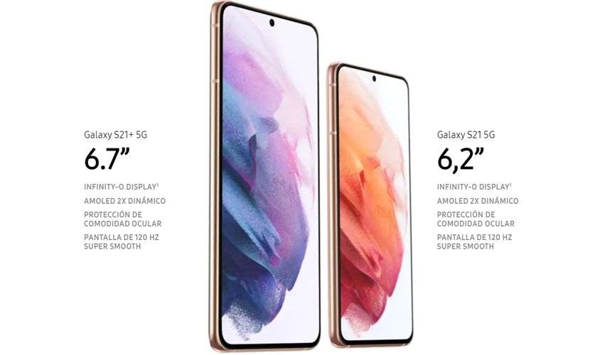 Samsung Galaxy S21 - Affichage