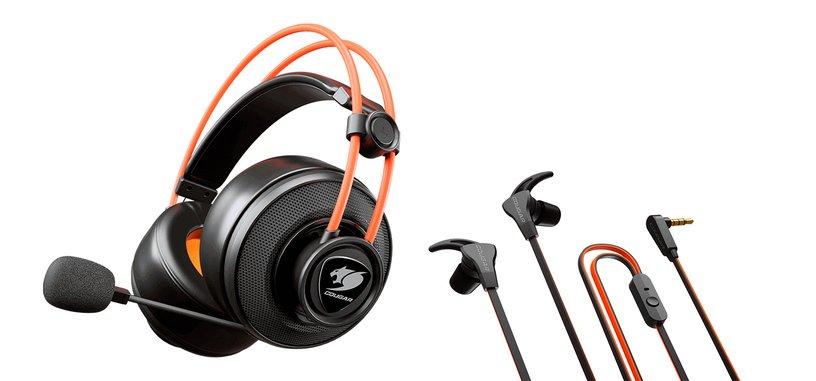 Cougar présente immersa bundle TI EX de deux casques d'écoute