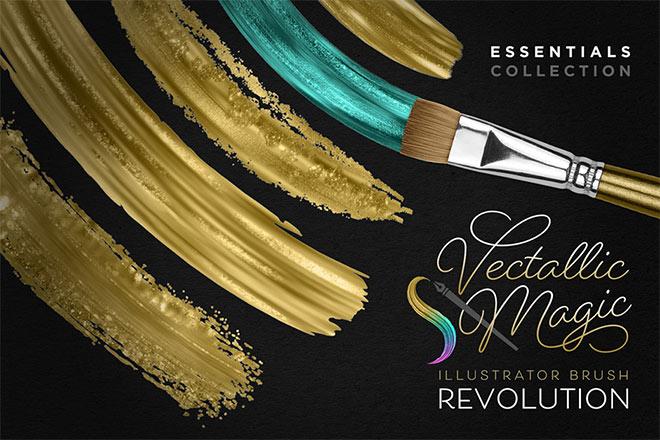 Vectallic Magic Brush Revolution!