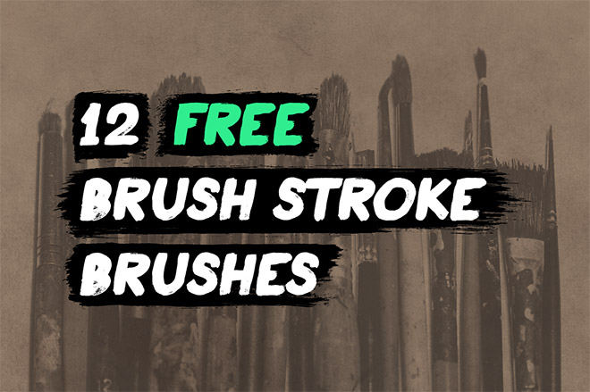12 coups de pinceau Illustrator gratuits