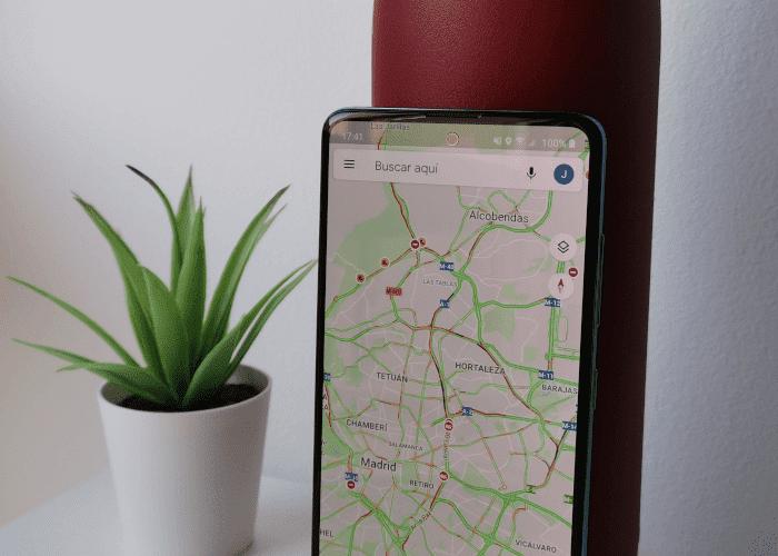Les embouteillages de Google Maps